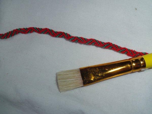 Bracelet acidulé en relièf