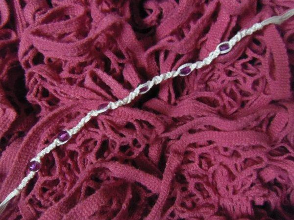 Bracelet a perles