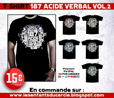 T-SHIRT 187 ACIDE VERBAL 2