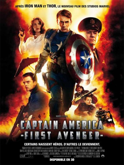 The first Avenger : Captain America