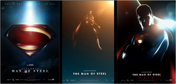 Affiche Superman Man Of Steel