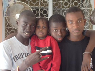 cheikh fatou me and petit