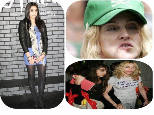 - Madonna et sa fille