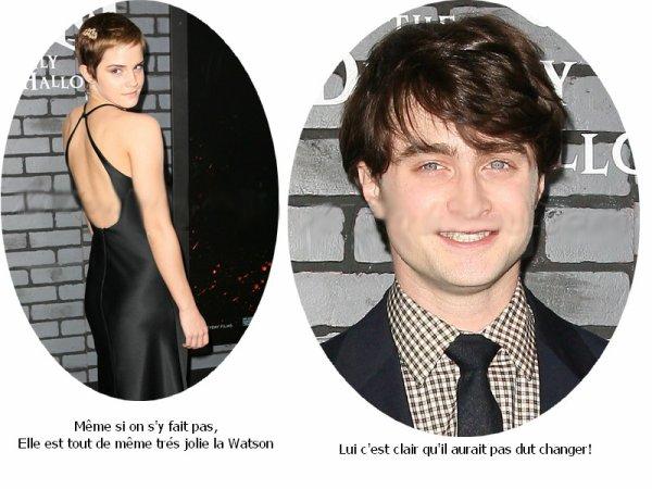 - Daniel Radcliffe et Emma Watson