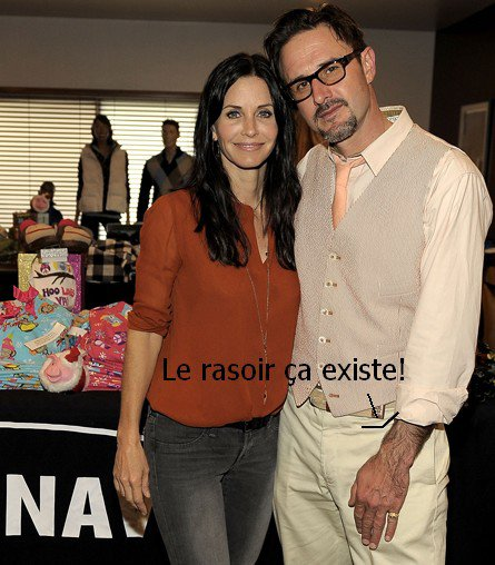 David Arquette et Courtney cox