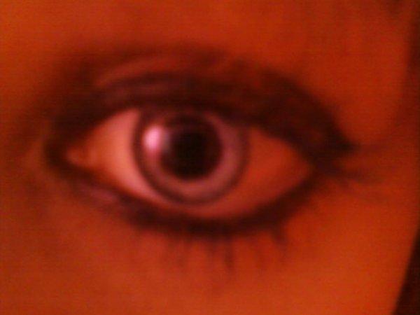 Mon oeil <3