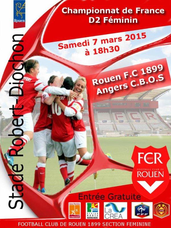 Rouen F.C. 1899 - Angers C.B.O.S