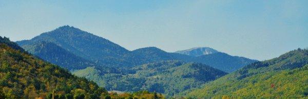 Montagne automnale