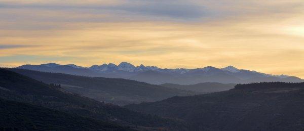 La plus belle chaîne de montagne....Les Pyrénées