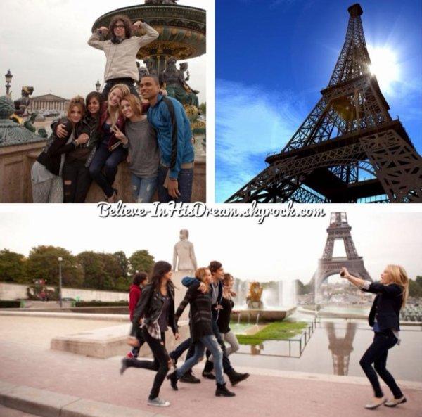 Chapitre 5, Destination Paris:
