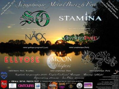 Symphonic Metal Breizh Fest le 12 Novembre !!