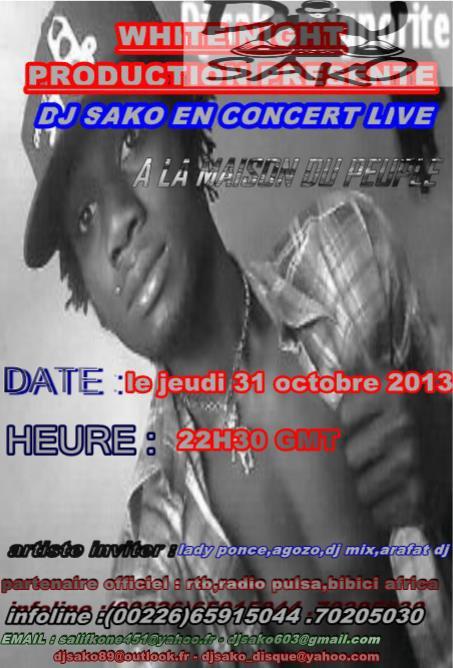 DJ SAKO EN CONCERT LIVE