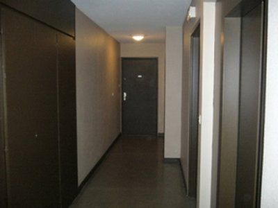 toile de verre dans un hall blog de peinture 69. Black Bedroom Furniture Sets. Home Design Ideas