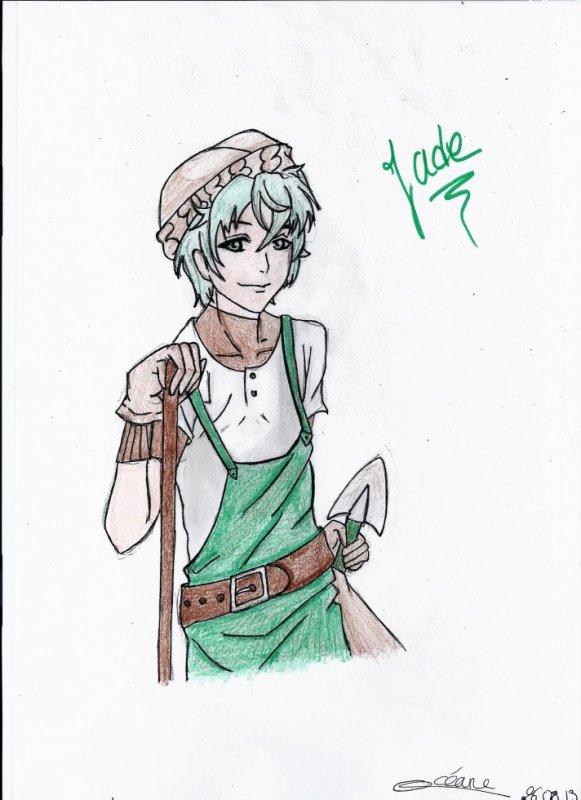 jade, le jardinier d'amour sucré