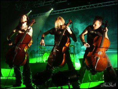 Show Apocalyptica au Metropolis à Montréal 10/03/11