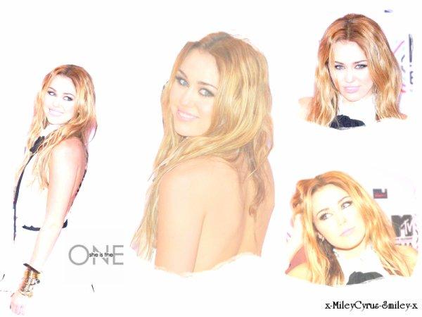 Miley sur le tapis de MTV EMA 7, Novembre