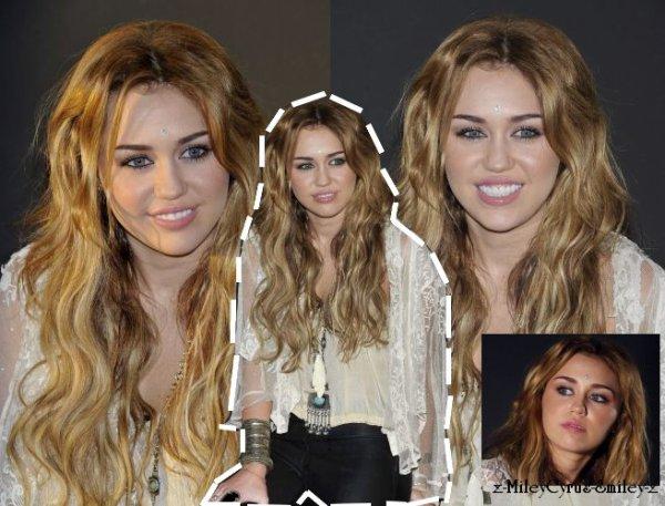 Miley était à une conférence de presse à la FNAC de Madrid  (rattrapage)   5, Novembre
