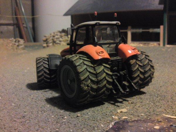 tracteur modifié