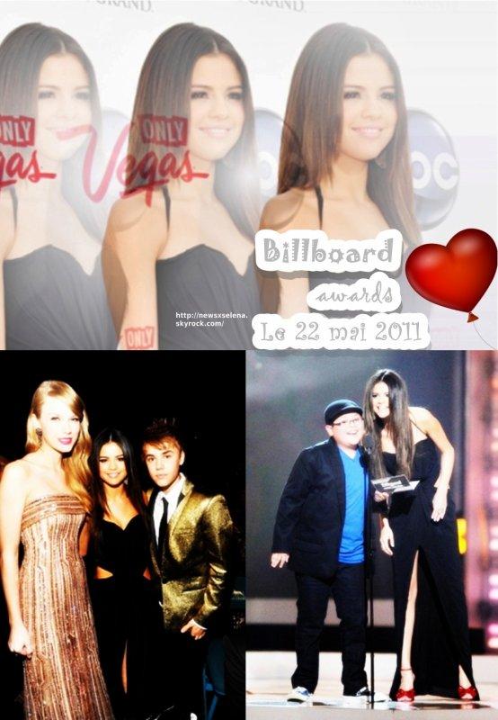 Selena au Billboard awards, le 22/05/2011