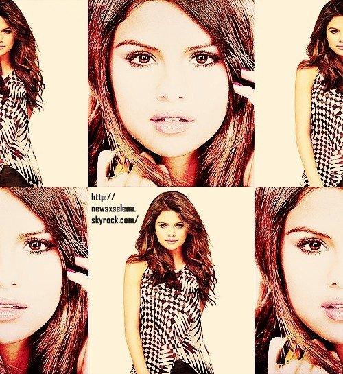Nouveau photoshoot inconnu de Selena