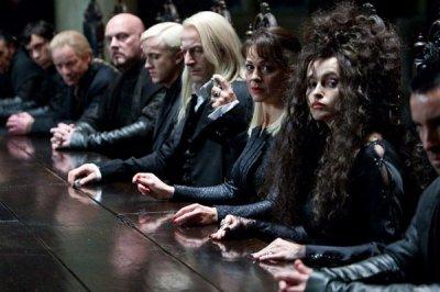 Jason Isaacs (Lucius Malefoy) Tom Felton (Drago Malefoy)