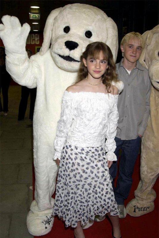 Emma Watson et Tom Felton <3