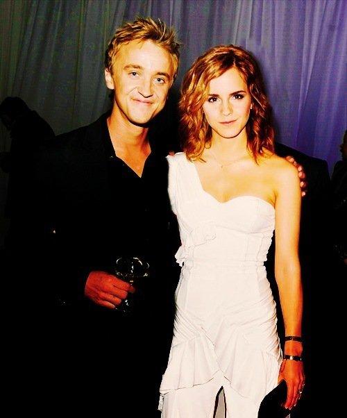 Tom Felton et Emma Watson =D