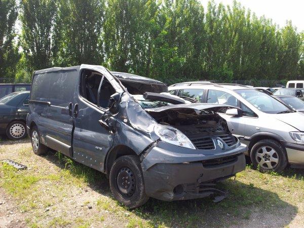 Transfert d'un vehicule accidenté d'un garage a un autre