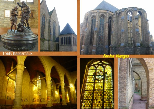 ..... BERGUES : EGLISE SAINT MARTIN .....