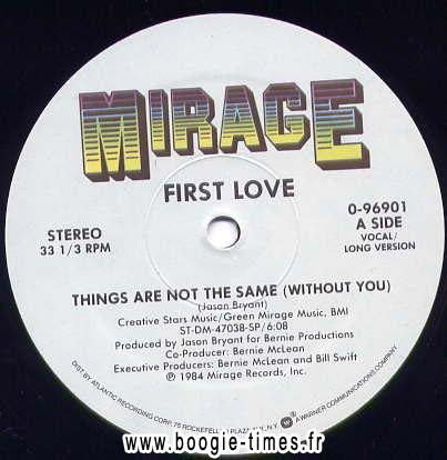 FIRST LOVE, Things are not the same
