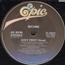 Juicy Fruit - Mtume - YouTube