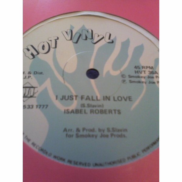 ISABEL ROBERTS - I Just Fall In Love