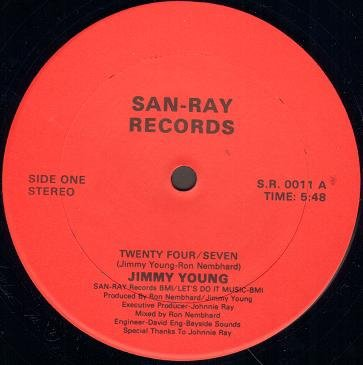 JIMMY YOUNG, Twenty four seven