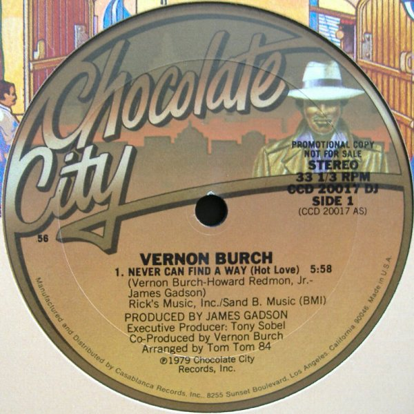 Vernon Burch - Never Can Find The Way (Hot Love)