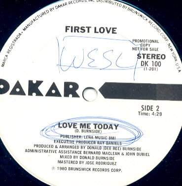 first love love me today