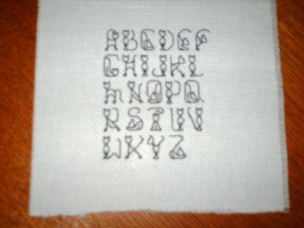 alphabet des chats