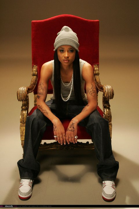 the queen of hip hop is meeeeeeeeeee