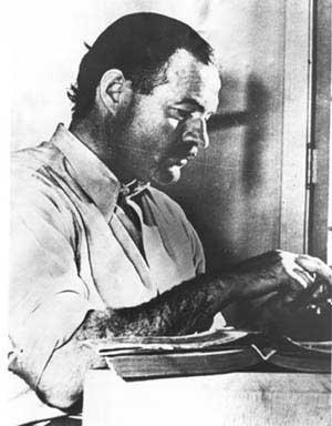 Ernest Hemingway : journaliste et écrivain durant la guerre d'Espagne