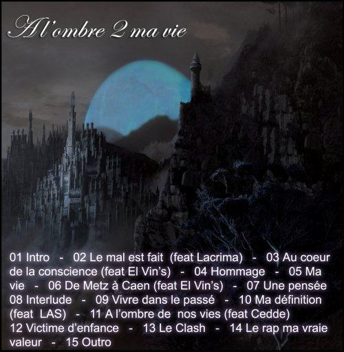 Album - A l'ombre 2 ma vie