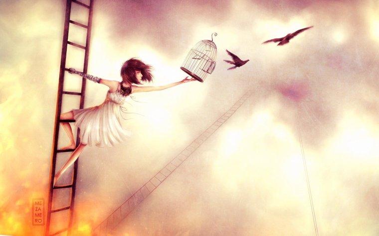 Un ange en cage