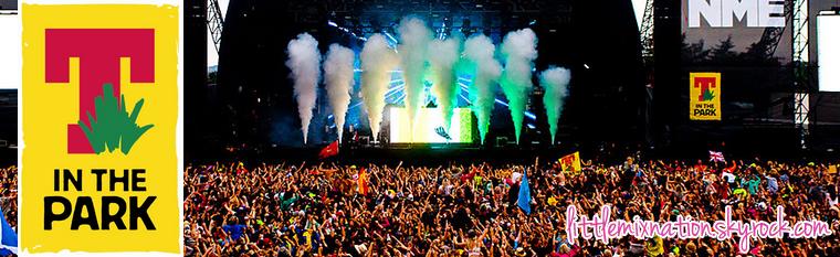 """Les Little Mix au """"T in the Park Festival"""" cette année"""