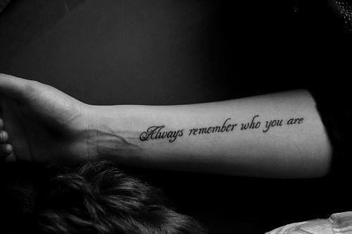 N'oubli jamais...