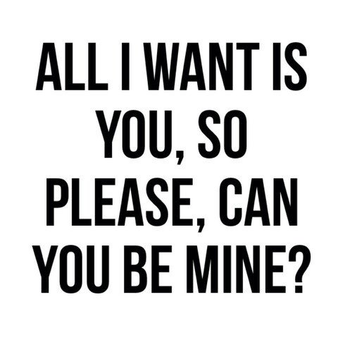 All I Want ...