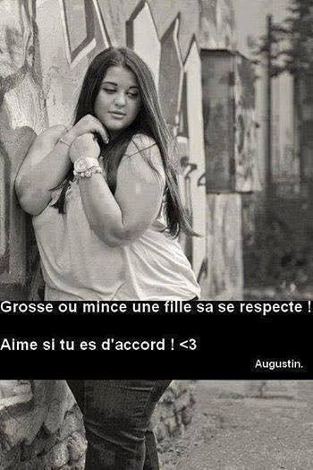 Une fille ça se respecte...