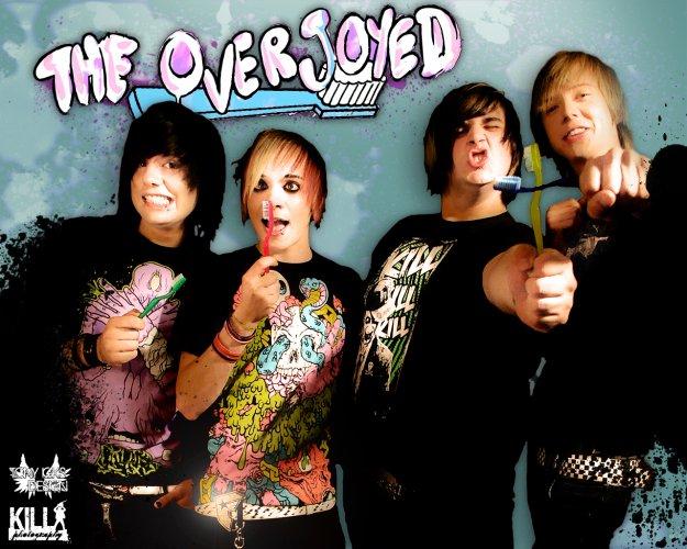 the overjoyed