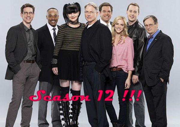 Saison 12 de NCIS !