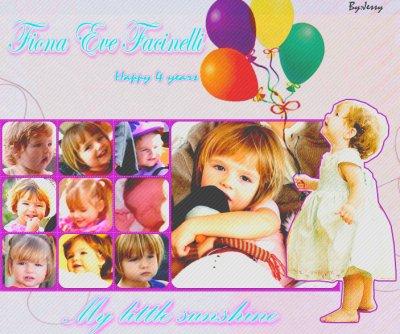 Happy Birthday Fiona Eve Facinelli Garth ♥
