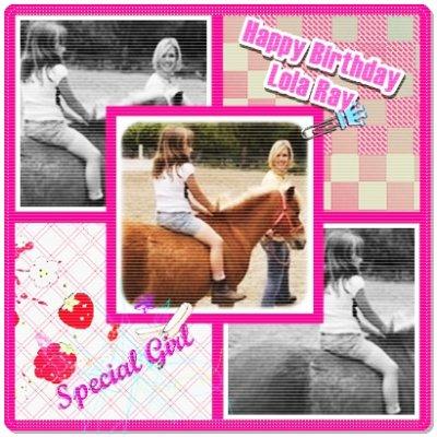 Happy 8th Birthday Lola ♥