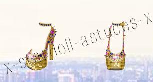 Chaussures dorées GRATUITES ! :)
