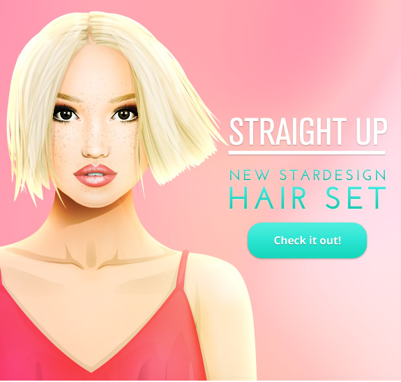 New Stardesign Hair Set